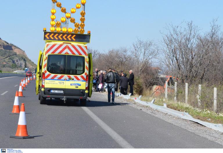 Τροχαίο Αθηνών – Θεσσαλονίκης: Σύγκρουση αυτοκινήτου με μηχανή – Κυκλοφοριακό χάος στην εθνική οδό!