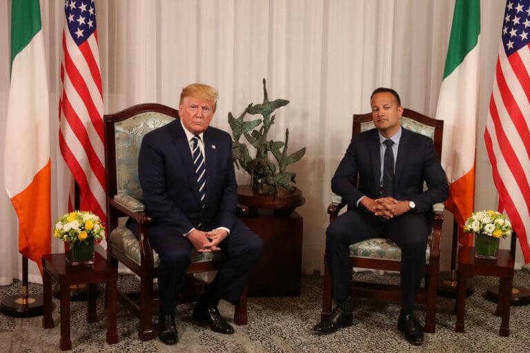 Ο Τραμπ άφησε… παγωτό τον πρωθυπουργό της Ιρλανδίας – Συνάντηση γεμάτη… ευτράπελα
