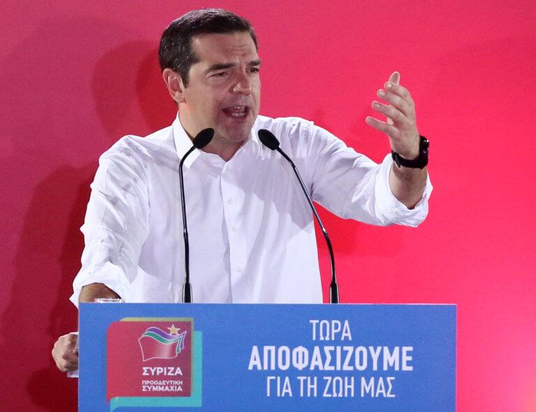 Εκλογές 2019: Ο Αλέξης Τσίπρας από το Μέγαρο Μουσικής