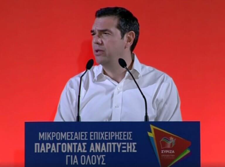 Εκλογές 2019: H ομιλία που πραγματοποίησε ο Αλέξης Τσίπρας στη Λαχαναγορά του Ρέντη