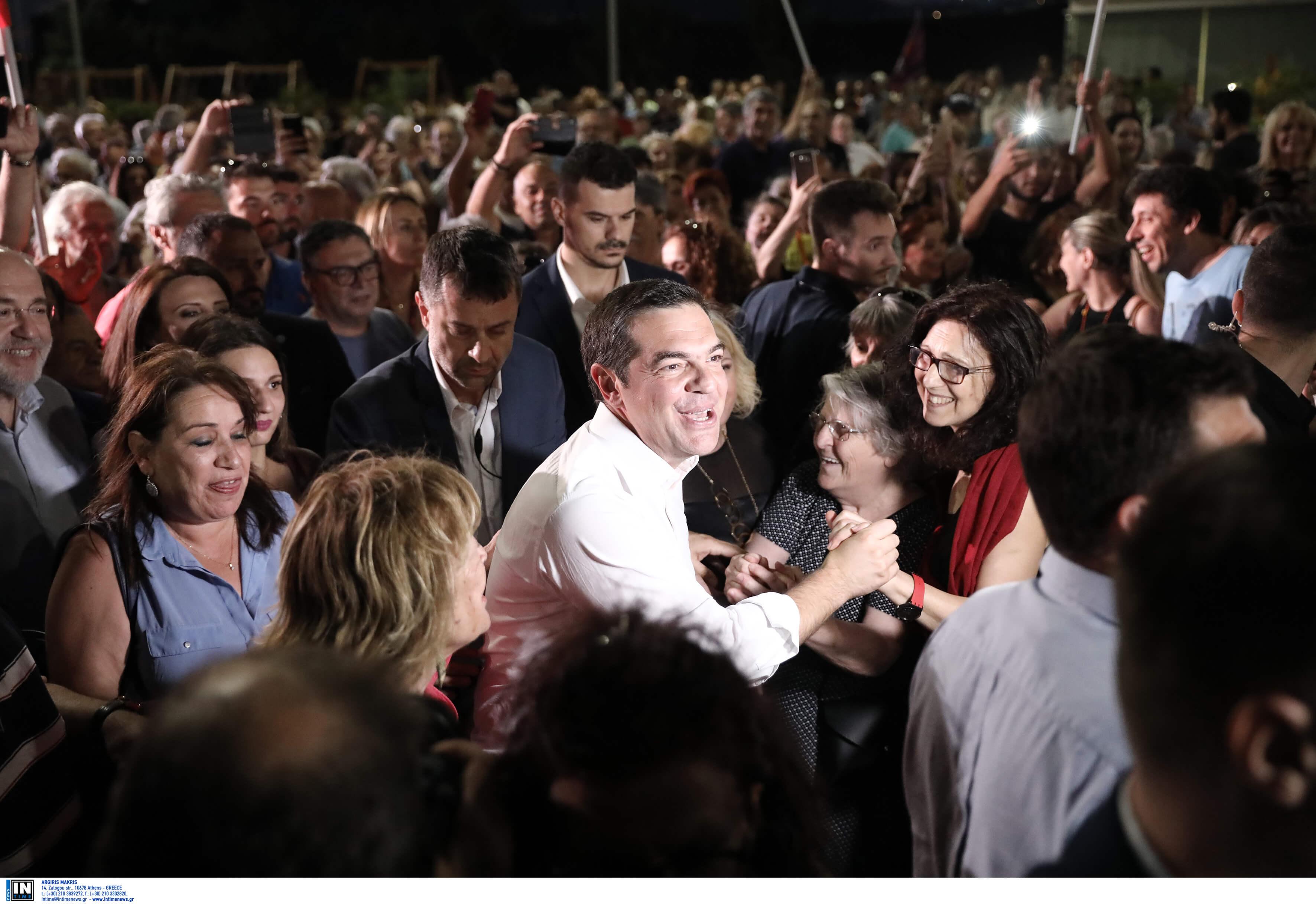 Εκλογές 2019 – Τσίπρας: LIVE η ομιλία του στον Πολυχώρο Λιπασμάτων στη Δραπετσώνα