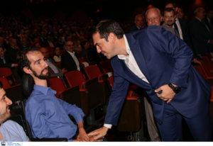 Η απρόσμενη συνάντηση Τσίπρα – Κυμπουρόπουλου