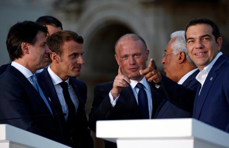 """Μάλτα: Οι """"Med7"""" ζητούν μέτρα από την ΕΕ αν η Τουρκία δεν σταματήσει να προκαλεί"""