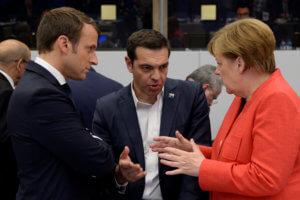 Σύνοδος Κορυφής: Συναντήσεις Τσίπρα με Αναστασιάδη, Μέρκελ, Μακρόν