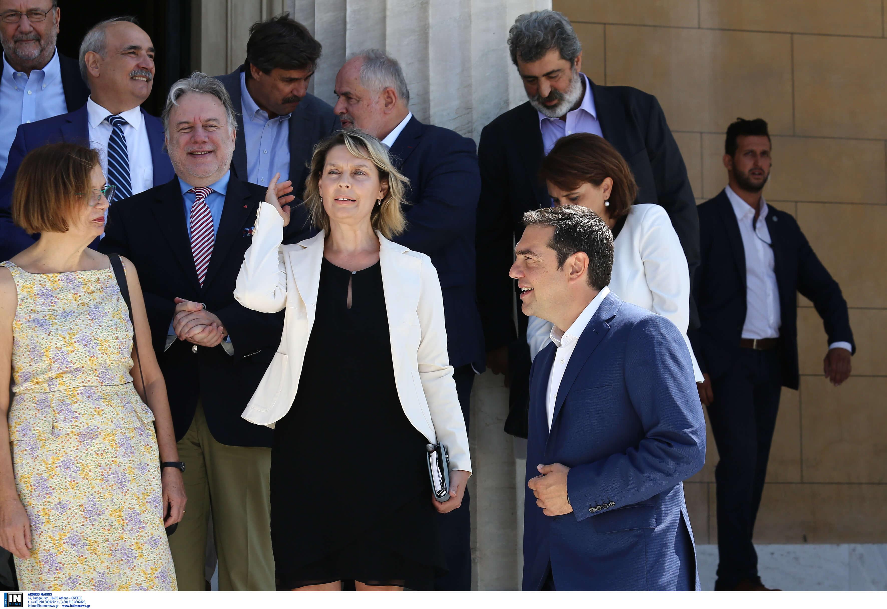 Με Παπακώστα, Μπελαβίλα και Τσιρώνη τα ψηφοδέλτια του ΣΥΡΙΖΑ - Και στην ανατολική Αττική υποψήφιος ο Τσίπρας