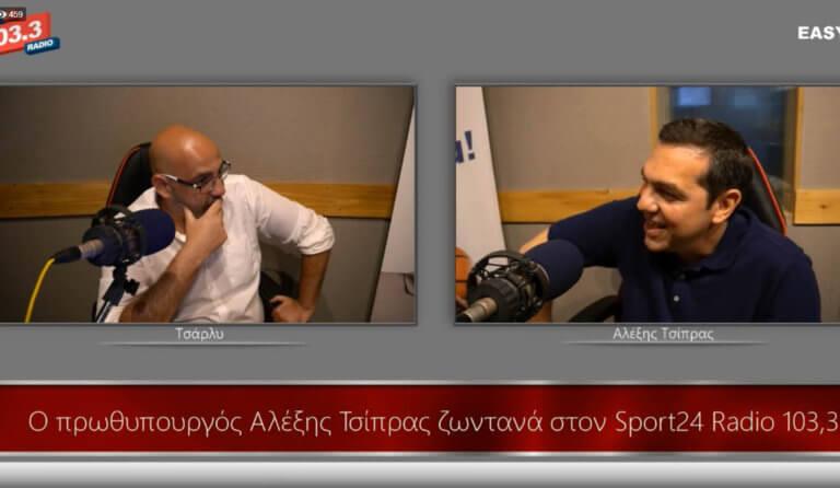 Εκλογές 2019: 'Ολη η συνέντευξη του Αλέξη Τσίπρα στο Sport24
