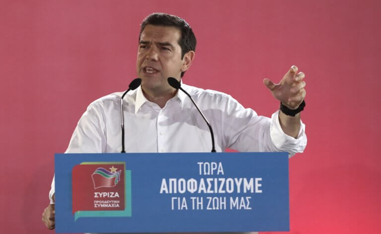 Εκλογές 2019: Η ομιλία του Αλέξη Τσίπρα από το Θησείο