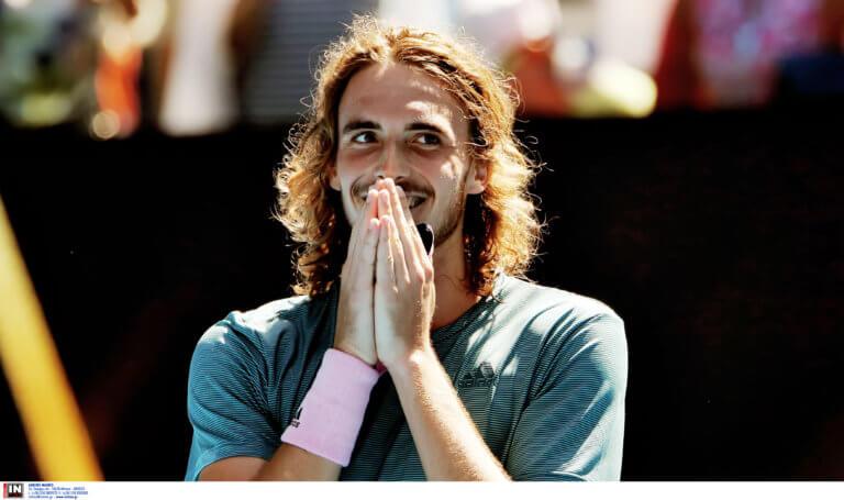 Λάρισα: Ο Στέφανος Τσιτσιπάς γεμίζει τα γήπεδα του τένις – «Μοιάζει με την εποχή του Γκάλη»!
