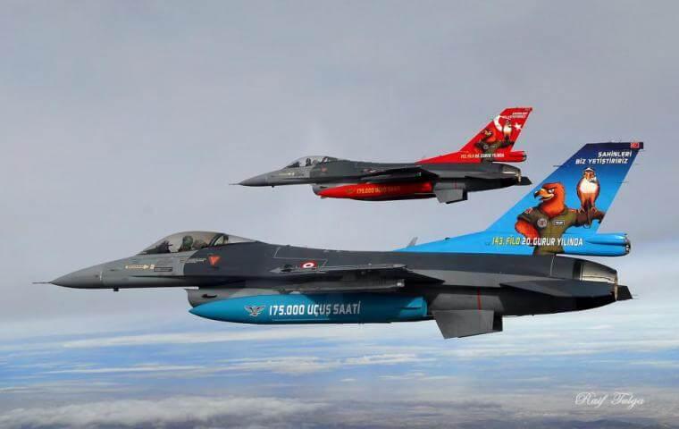 Νέα υπέρπτηση τουρκικών F-16 πάνω από ελληνικό νησί