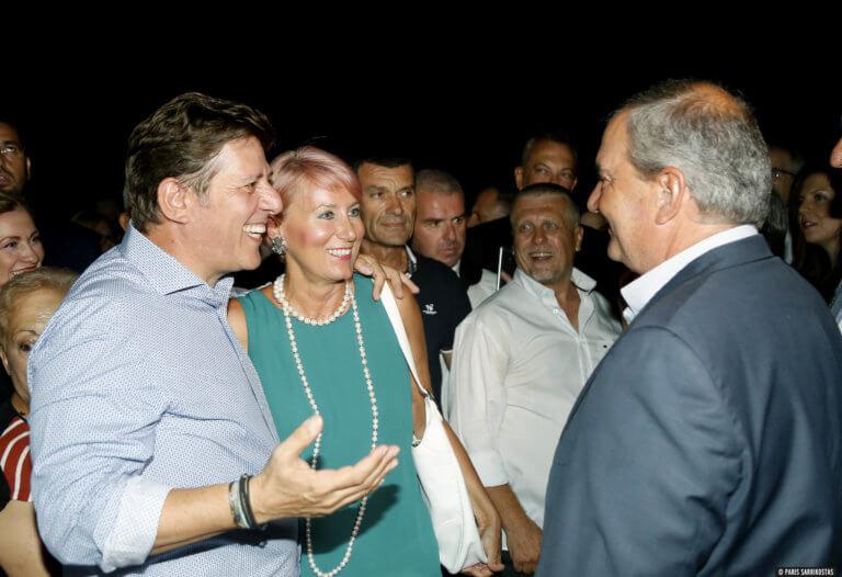 Καραμανλής, Πασχάλης και… προεκλογικό πάρτι γενεθλίων για τον Μιλτιάδη Βαρβιτσιώτη [pics]