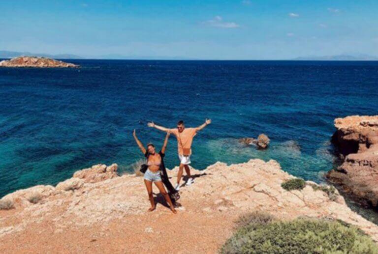 Στην Ελλάδα για να παντρευτεί πρώην παίκτης του Ολυμπιακού! [pics]