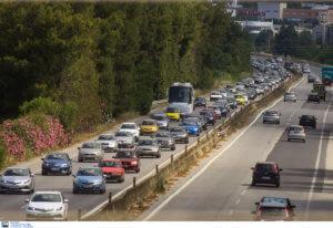 Χαλκιδική: Ουρές αυτοκινήτων στην εθνική οδό – Δεύτερη μέρα ταλαιπωρίας στους δρόμους!