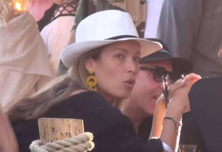 Μύκονος: Ο χορός της Μαριέττας Χρουσαλά μετά την βάφτιση του γιου της – Δίπλα της ο Λέων Πατίτσας – video