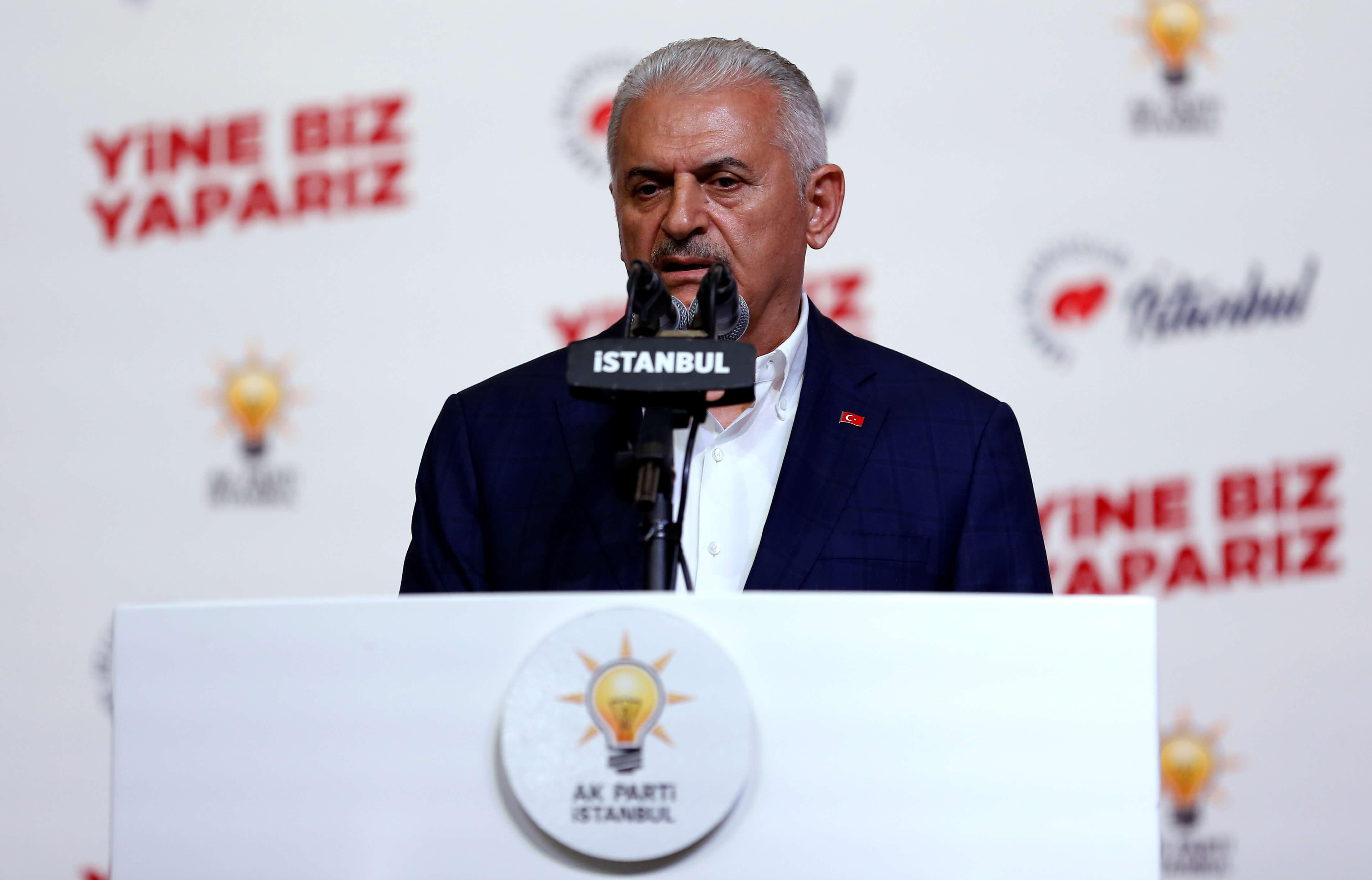 Με κορονοϊό ο τελευταίος πρωθυπουργός της Τουρκίας, Μπιναλί Γιλντιρίμ