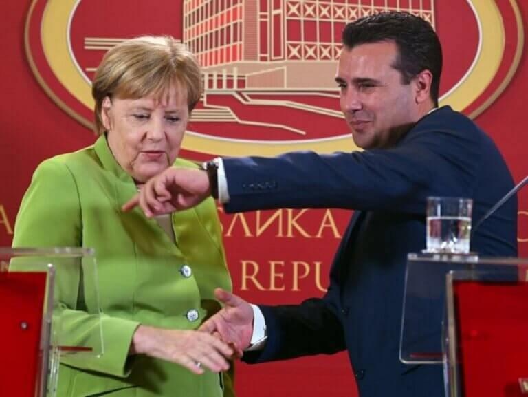 Μέρκελ: «Φρένο» στην ένταξη Β. Μακεδονίας – Αλβανίας στην ΕΕ!