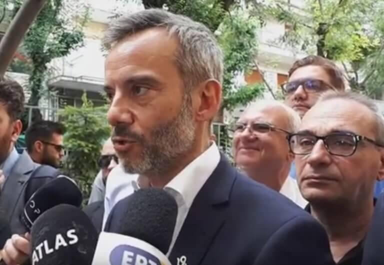 Εκλογές 2019 – Θεσσαλονίκη: Σίγουρος για τη νίκη ο Ζέρβας – «Είναι μια μέρα χαράς για την πόλη» – video
