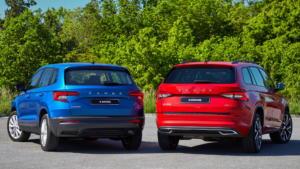 Μικρές αναβαθμίσεις για τα Škoda Karoq και Kodiaq