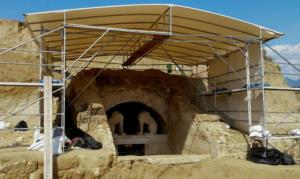 Αμφίπολη: Νέα υποστύλωση στο μνημείο – Έτοιμη για το κοινό η Σφίγγα!