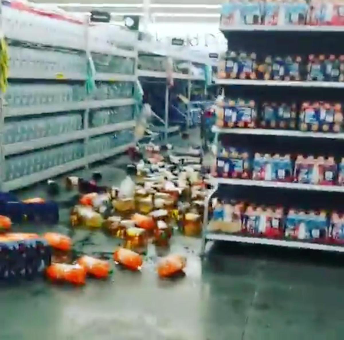 Σεισμός - Καλιφόρνια