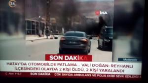 Έκρηξη παγιδευμένου αυτοκινήτου στην Τουρκία – Τουλάχιστον δύο νεκροί