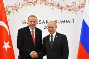 Με… φόντο την Συρία συνάντηση Πούτιν – Ερντογάν στις 22 Οκτωβρίου