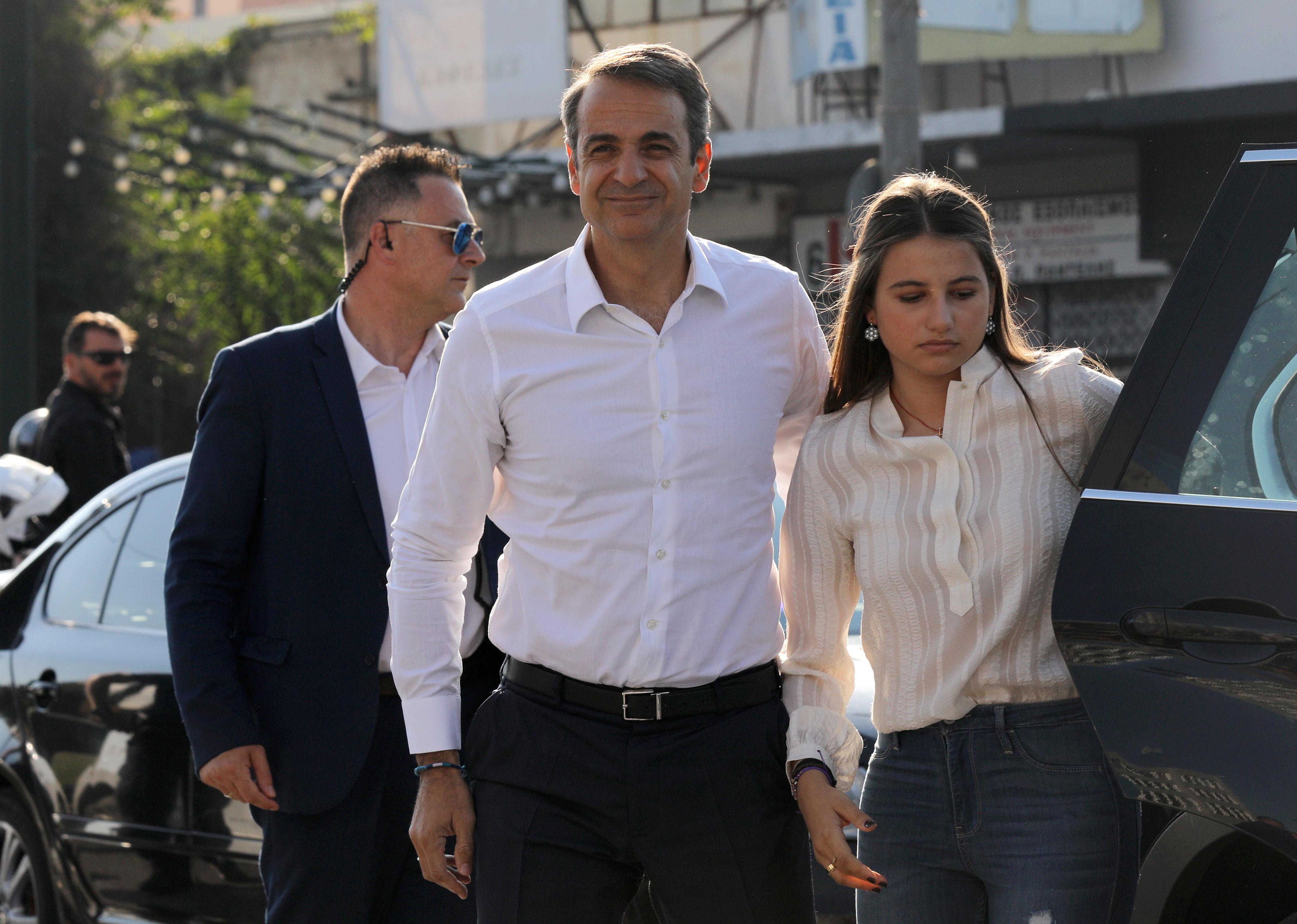 Μητσοτάκης - αυτοδυναμία - exit poll