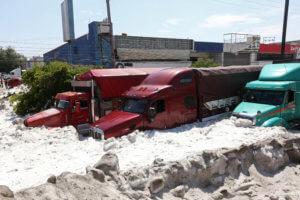 Μεξικό: Χαλάζι «έθαψε» τη Γουαδαλαχάρα – Πρωτοφανείς εικόνες [video, pics]