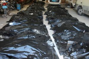"""Λιβύη: Ανασύρθηκαν οι πρώτες 55 σοροί στο """"χειρότερο ναυάγιο με μετανάστες""""!"""