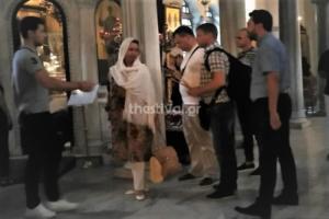 Επίσκεψη – αστραπή στη Θεσσαλονίκη για την γυναίκα του Μεντβέντεφ – video