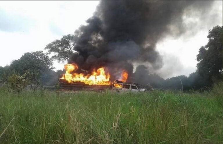 Νιγηρία: Τουλάχιστον 50 οι νεκροί από το δυστύχημα με το βυτιοφόρο [pics]