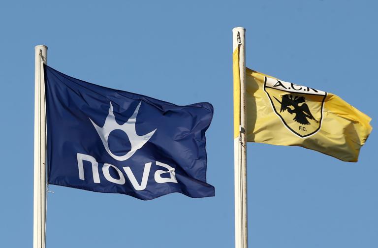 """NOVA: """"Δεν τίθεται θέμα τηλεοπτικών δικαιωμάτων της ΑΕΚ"""""""