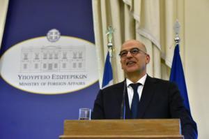 Δένδιας: Η Ελλάδα δεν πρόκειται να δεχτεί τις συνέπειες της εισβολής στην Κύπρο