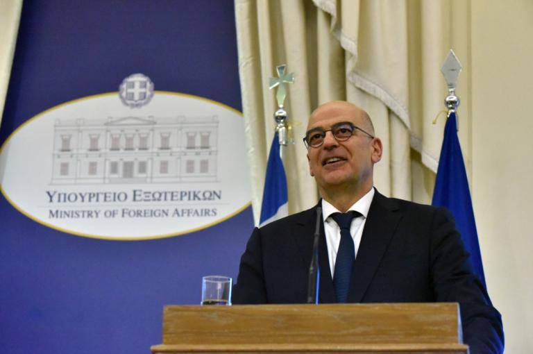 Δένδιας: Θα ενισχυθούν οι βάσεις της νέας δυναμικής στις σχέσεις Ελλάδος-ΗΠΑ
