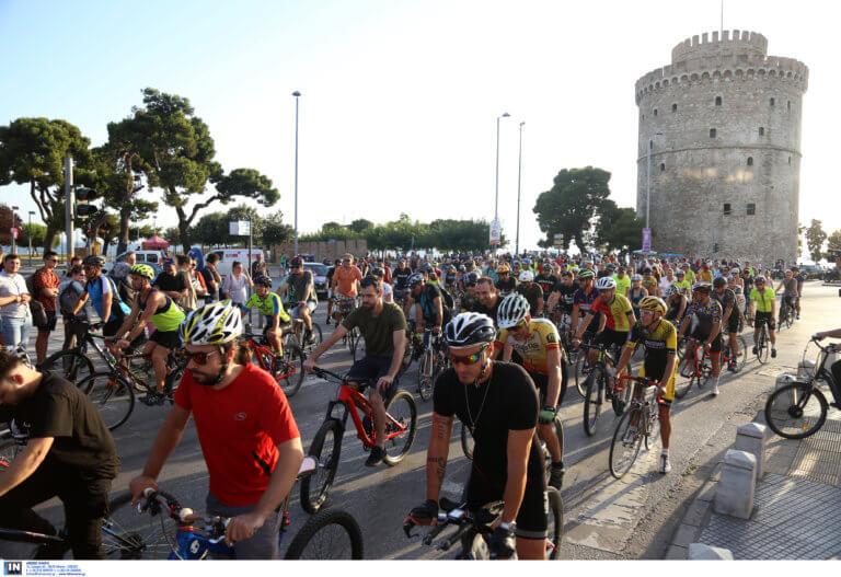 Θεσσαλονίκη: Ποδηλατοδρομία διαμαρτυρίας για το δυστύχημα στην Πτολεμαΐδα