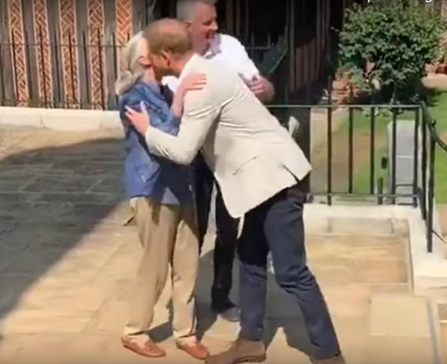 Πρίγκιπας Χάρι: Μαζί με την Τζέιν Γκούντολ που δαμάζει τους γορίλες για την προστασία του πλανήτη!