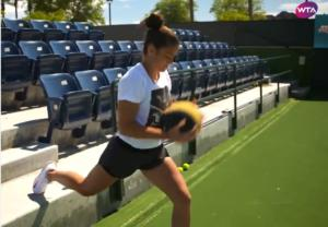 Σάκκαρη: Έτσι προετοιμάζεται για τους αγώνες στο Wimbledon! video
