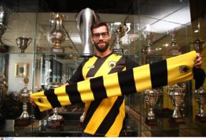 ΑΕΚ – Σιμάο: «Ήρθα στην ομάδα γιατί ξέρω τι ποδόσφαιρο θα παίξει ο Καρντόσο!»