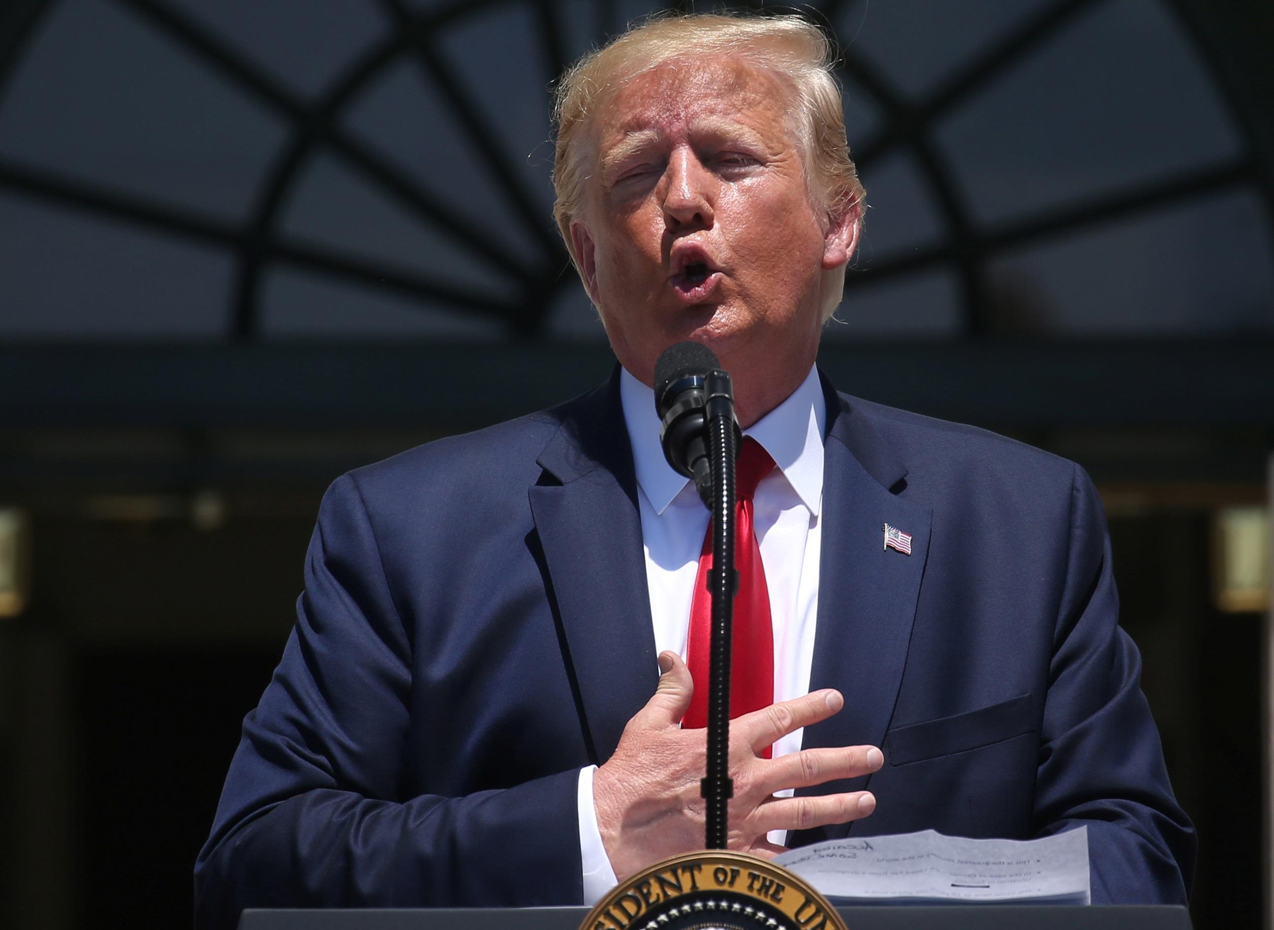Επικροτούν τις επιθέσεις του Τραμπ σε βουλευτίνες των Δημοκρατικών οι Ρεπουμπλικάνοι