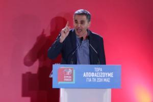 Εκλογές 2019 – Τσακαλώτος: Τα 5 + 1 επιτεύγματά μας στην οικονομία