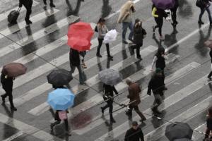 """Καιρός σήμερα: Βροχές και καταιγίδες στέλνει ο """"Αντίνοος""""!"""