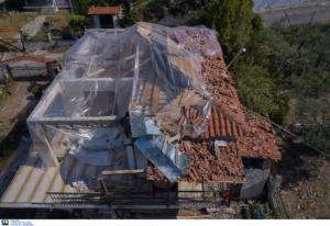 Χαλκιδική: Χωρίς στέγες τα περισσότερα σπίτια που «χτύπησε» η κακοκαιρία