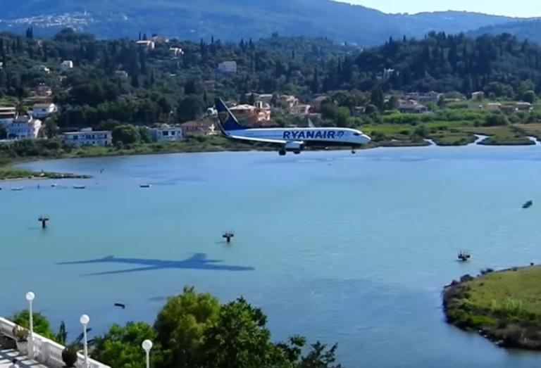 Κέρκυρα: Πρωινός καφές με θέα αυτές τις εικόνες – Προσγειώσεις αεροπλάνων που καθηλώνουν – video