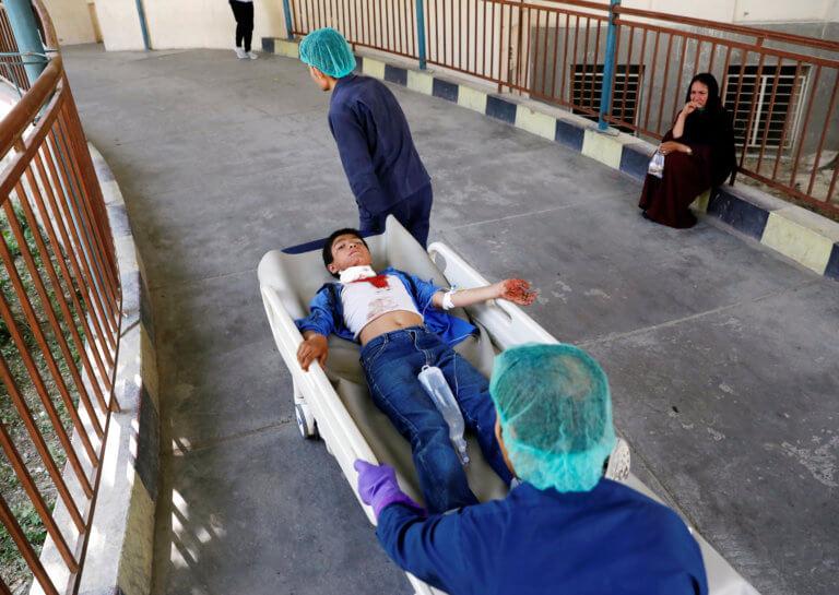 Αφγανιστάν: 65 τραυματίες από βομβιστική επίθεση στην Καμπούλ – Μεταξύ τους 9 παιδιά [pics]