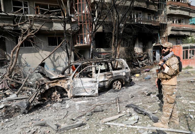 Τεράστια έκρηξη στην Καμπούλ – Δεκάδες τραυματίες