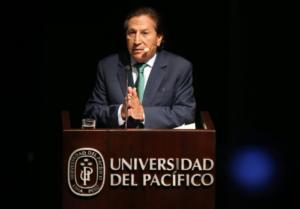 Συνελήφθη στις ΗΠΑ ο πρώην πρόεδρος του Περού, Αλεχάντρο Τολέδο