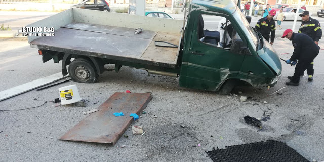 Τραγωδία στο Άργος! Ένας νεκρός σε τροχαίο – Εκσφενδονίστηκε από το φορτηγάκι (pics)