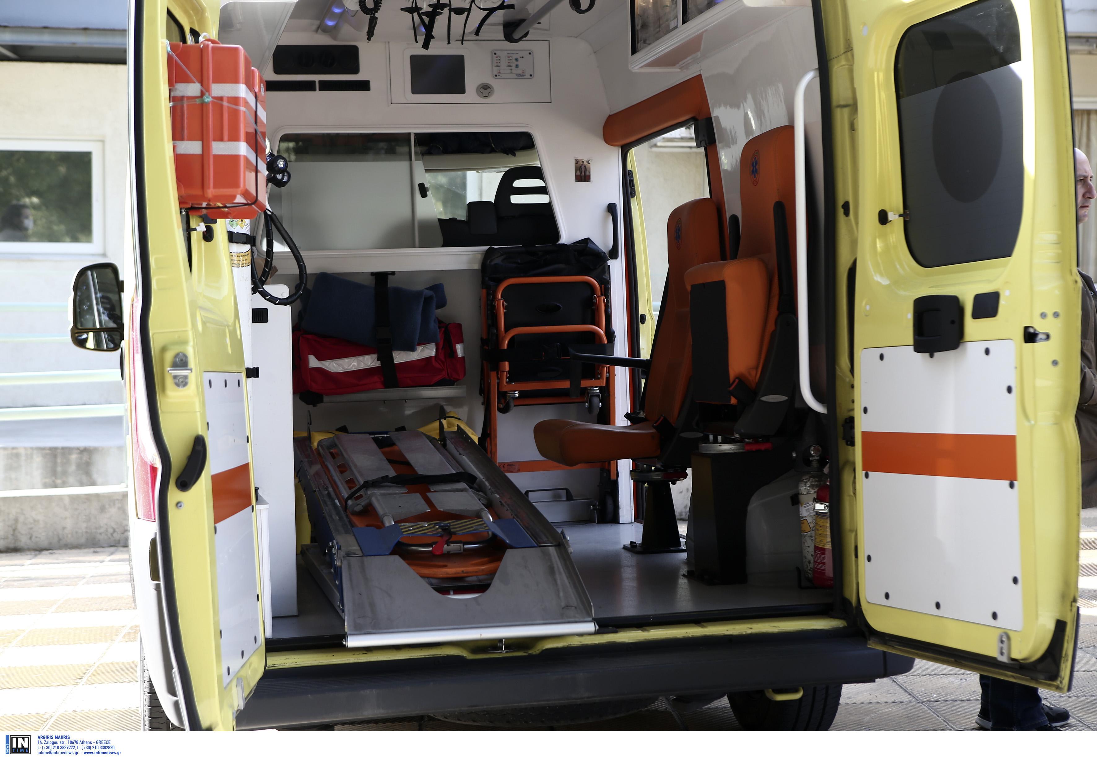Κρήτη: Τροχαίο με τρεις τραυματίες στην Εθνική Οδό
