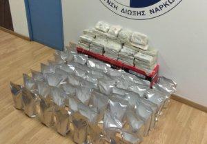 Εξαρθρώθηκε στα Πατήσια κύκλωμα ναρκωτικών με πλοκάμια στην Ευρώπη – Κατασχέθηκαν 83 κιλά ηρωίνης [video,pics]