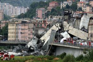 Ιταλία: Άγριο παρασκήνιο για την φονική κατάρρευση της γέφυρας στη Γένοβα!