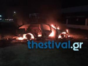 Παρανάλωμα του πυρός αυτοκίνητο στο Κορδελιό